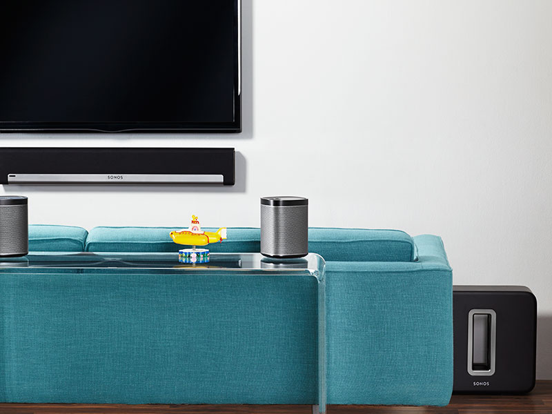 SONOS Play 1 in Home Theater