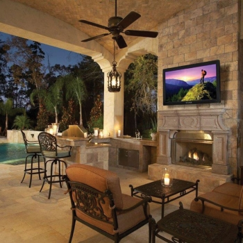 Outdoor Entertainment & Video Installation