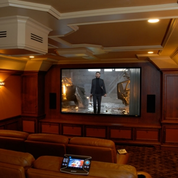 Home Theater Room - Control 4