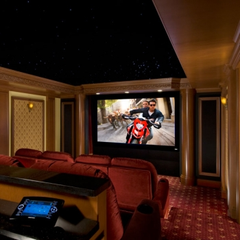 Premium Home Theater Installation Open
