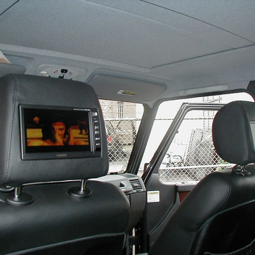 Automotive Video Display In Seat